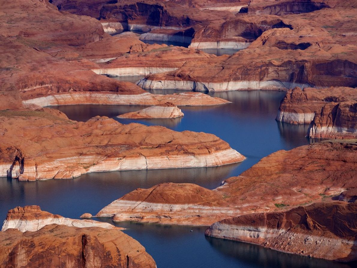 Depuis sa construction en 1966, le barrage de Glen Canyon a altéré de façon dramatique l'écosystème ...