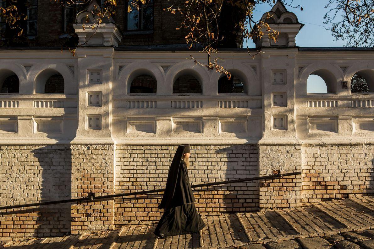 Bien que la laure de Kiev-Pechersk soit inscrite au patrimoine mondial de l'UNESCO et soit une ...