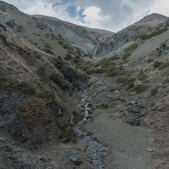 La frontière entre l'Arménie et le Haut-Karabagh.