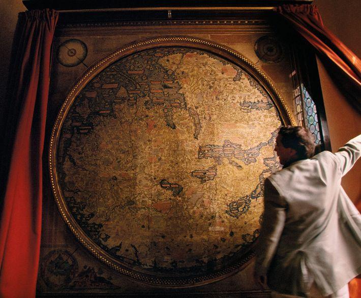 Carte des nouveaux mondes