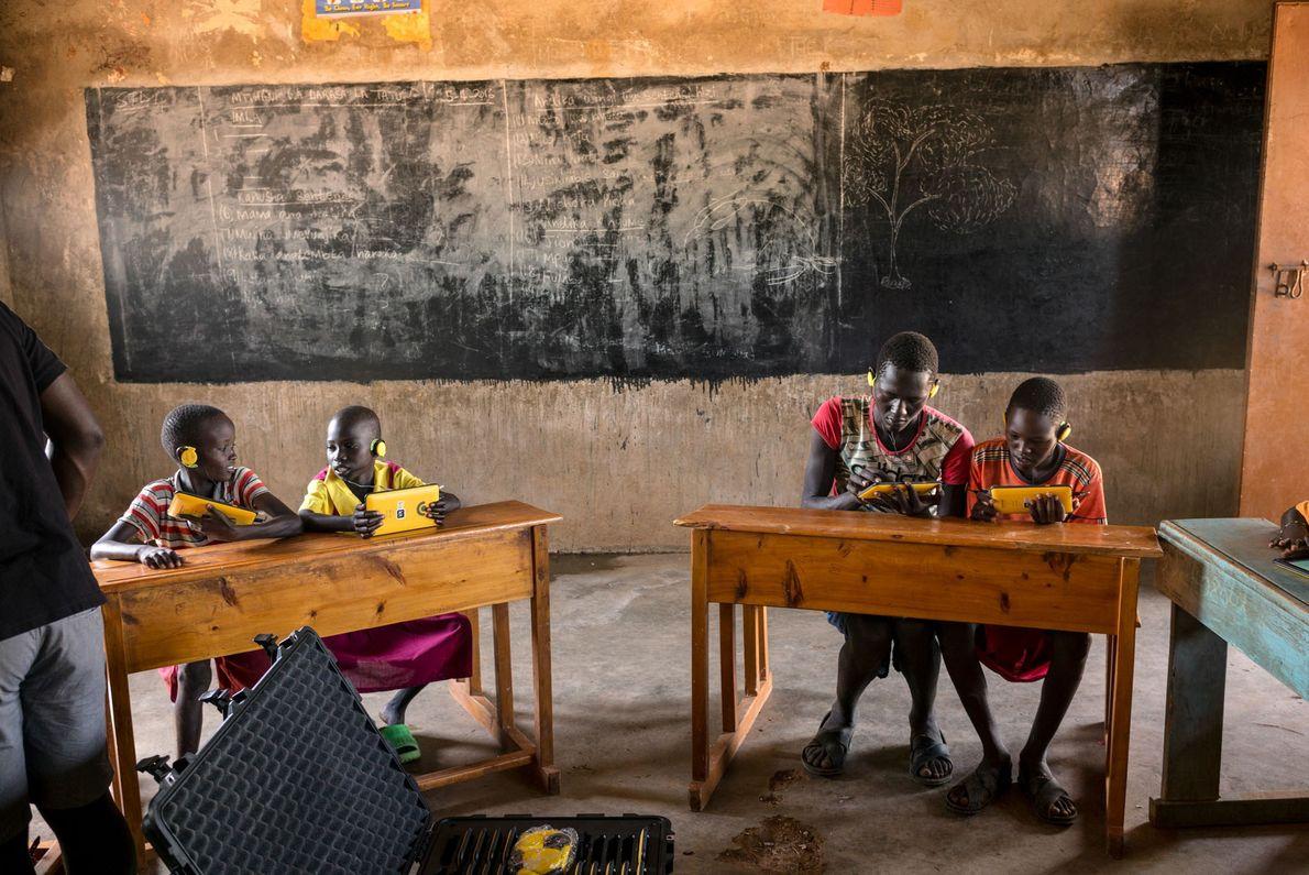 Un Kio kit est réservé aux élèves de l'école primaire Kilitamany.