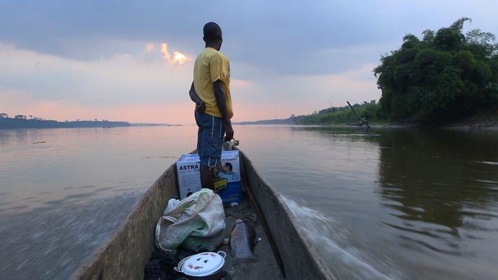 60 secondes sur le fleuve Congo