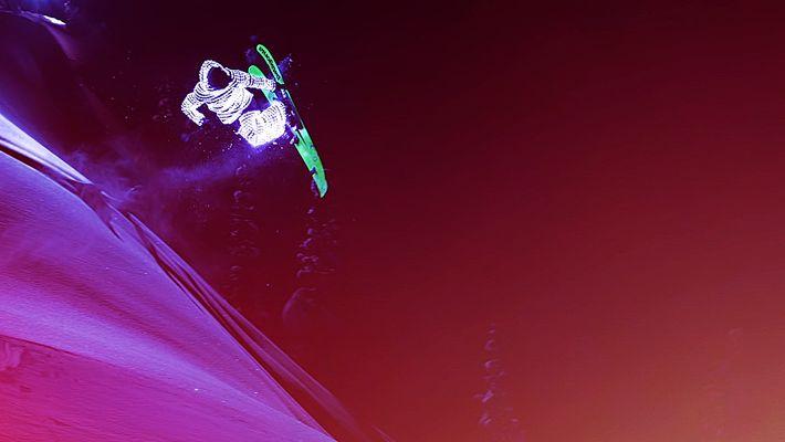 Regardez ces skieurs voler comme des étoiles filantes