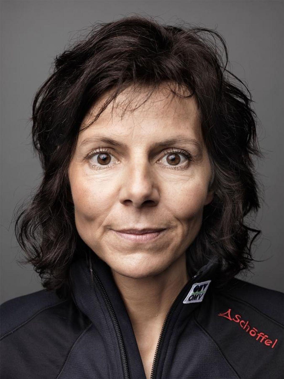 Portrait de Gerlinde Kaltenbrunner.