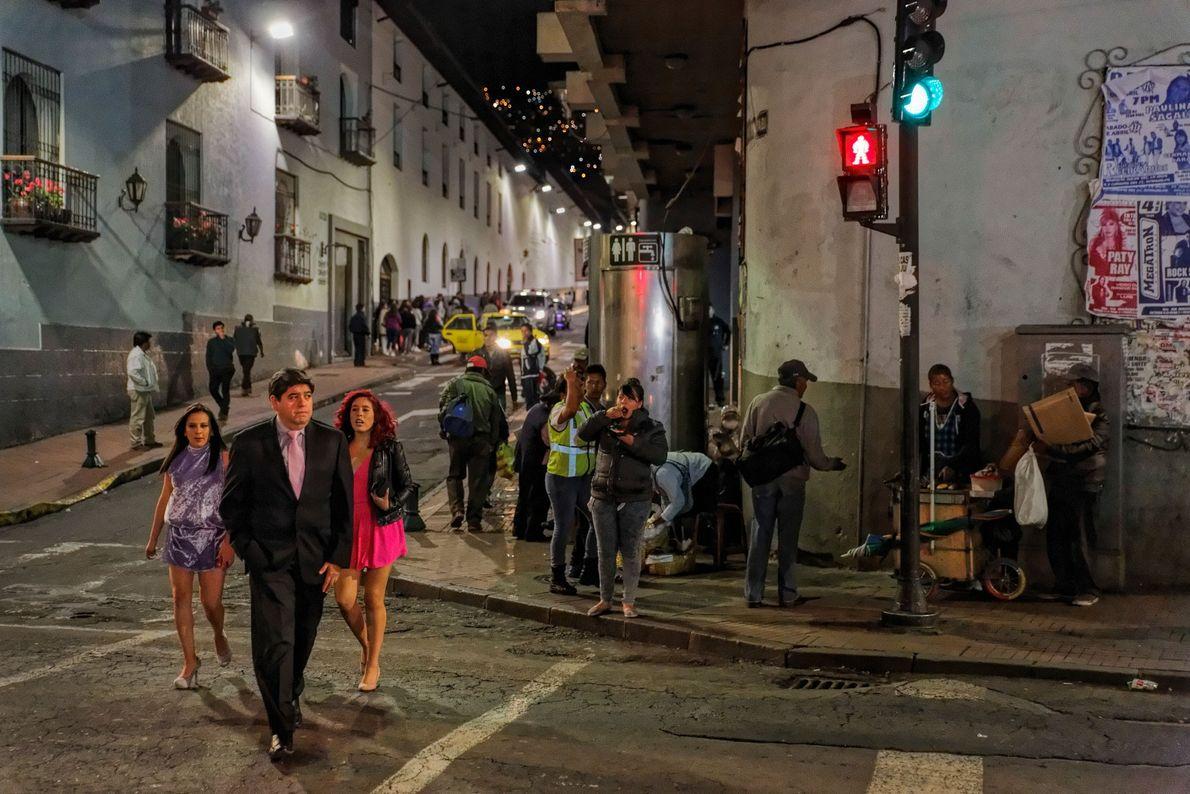 La préservation de l'histoire de la ville de Quito lui a valu une inscription à la ...