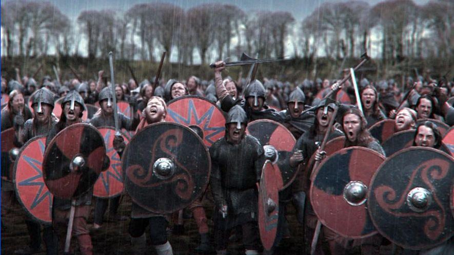 """Photo extraite du programme National Geographic """"Viking Apocalypse"""""""