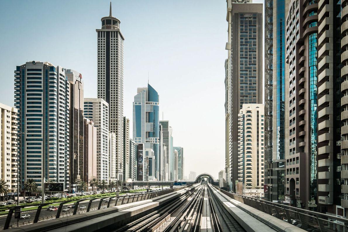 Traversée de Dubaï en métro