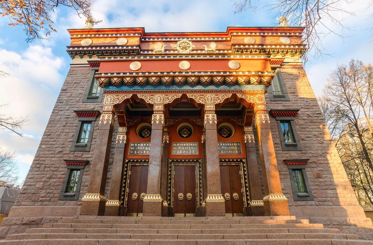 En Russie, les bouddhistes pratiquants comptent pour plus de 1,5 million de résidents et Saint-Pétersbourg abrite Datsan ...