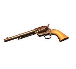 Le revolver Colt Single Action Army de Jesse James, fabriqué en 1880.