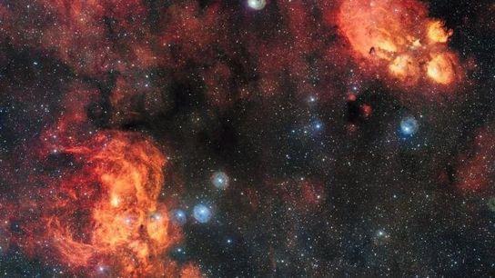 Cette image, la plus grande rendue publique à ce jour par l'Observatoire européen austral (ESO) et ...