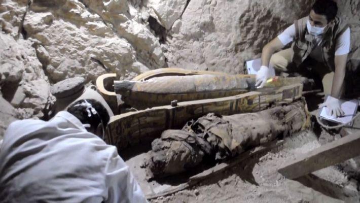 Découverte d'une tombe égyptienne de 3 500 ans
