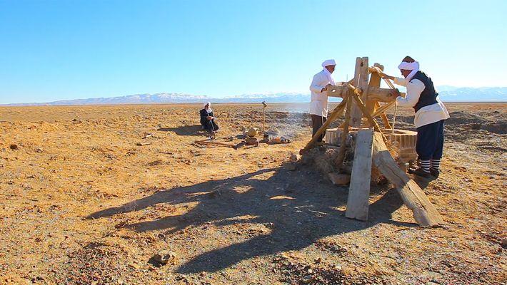 Sous les dunes du désert, un ancien réseau hydrique est toujours en usage