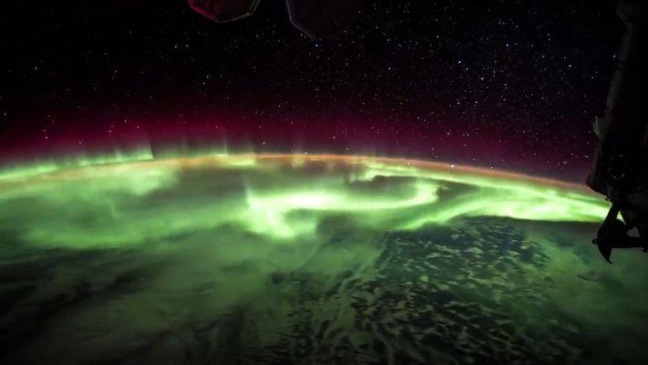 Une vidéo en time-lapse montre une aurore boréale depuis la Station Spatiale Internationale