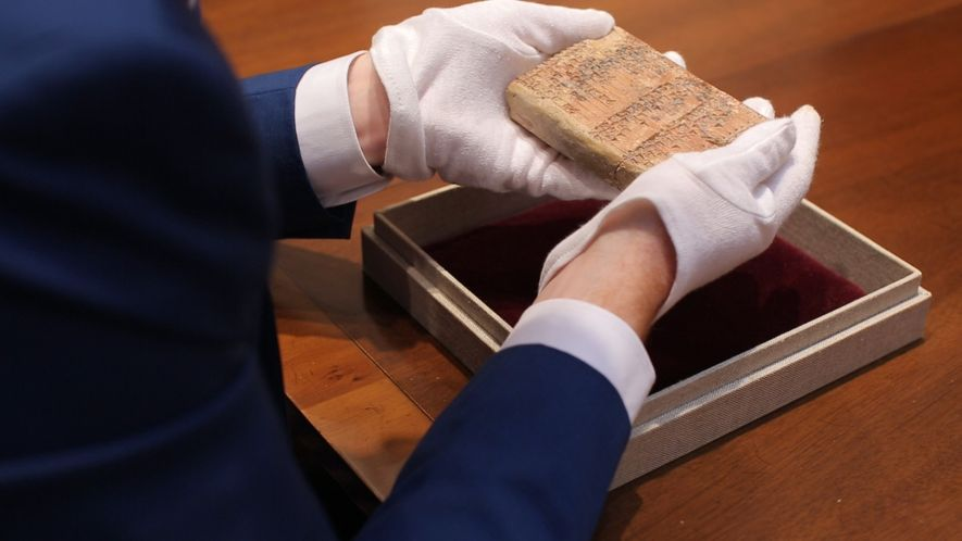 Cette tablette antique serait le premier signe des mathématiques modernes