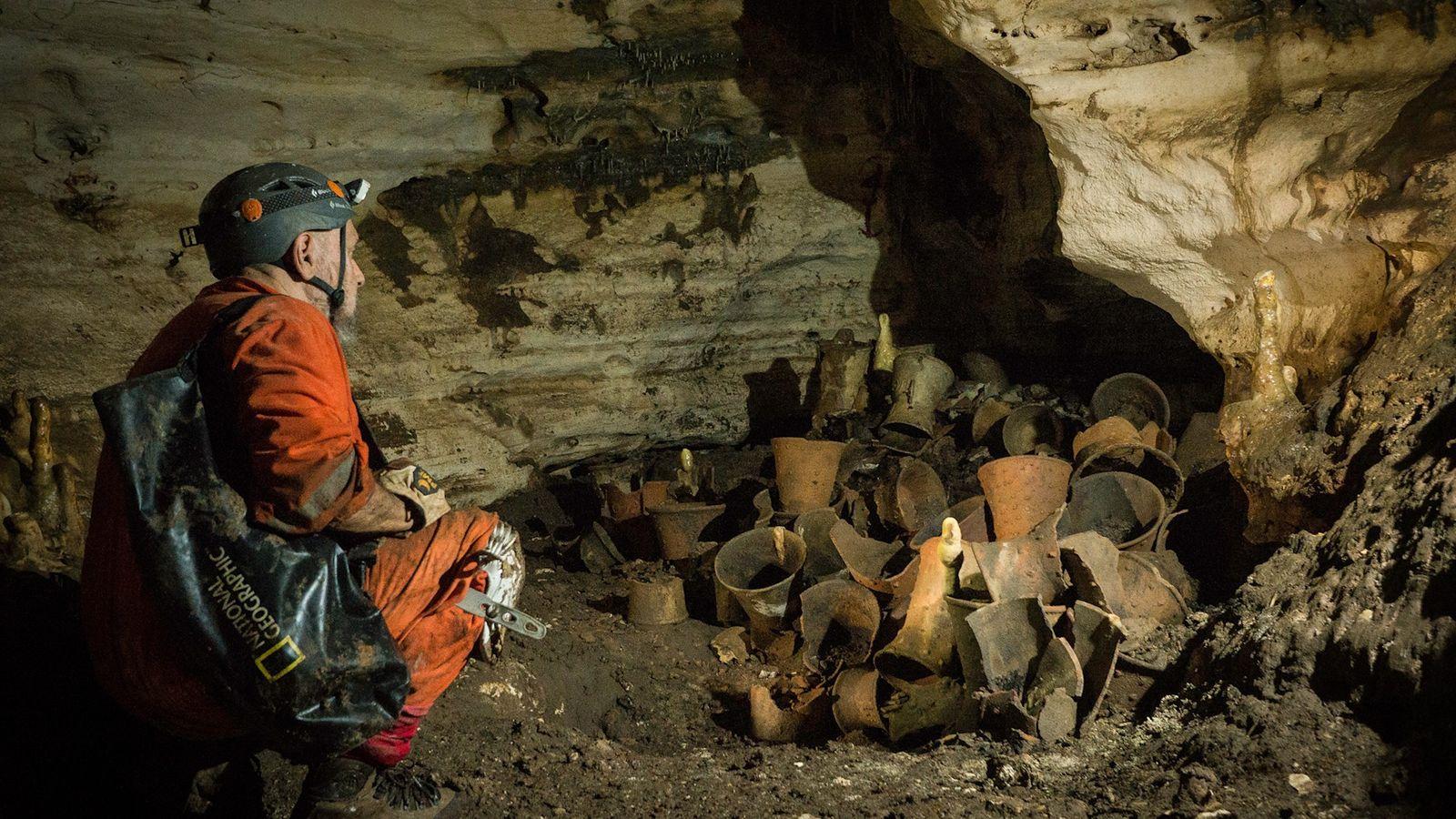 Exclusif : mise au jour de la grotte d'un ancien dieu maya