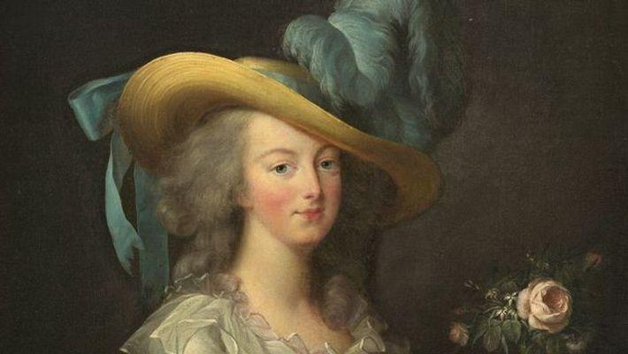 Portrait de Marie-Antoinette par Elisabeth-Louise Vigée Le Brun.