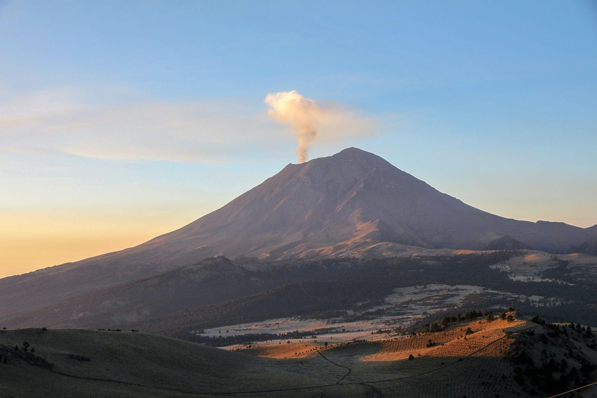 Mexique : reportage au sommet du Popocatépetl