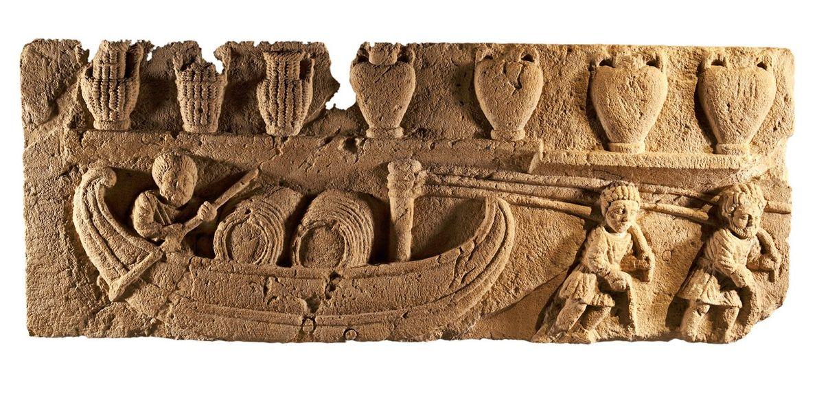 La vie sur une barge gallo-romaine
