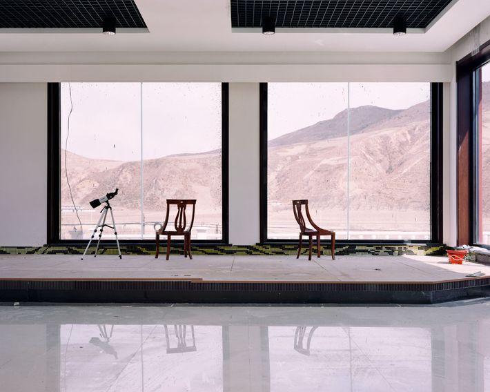 À Longjing, cet hôtel situé à la frontière avec la Corée du Nord dispose de télescopes ...
