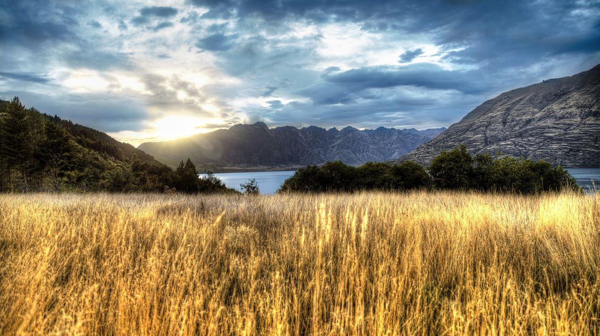 2015 - HDR Paysage - Glenorchy, Nouvelle-Zélande Boitier : Canon 6D Objectif : Canon 24-105/f4 L IS USM Infos ...