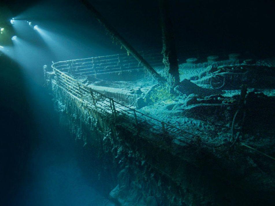 Images de l'épave du Titanic, un siècle après son naufrage