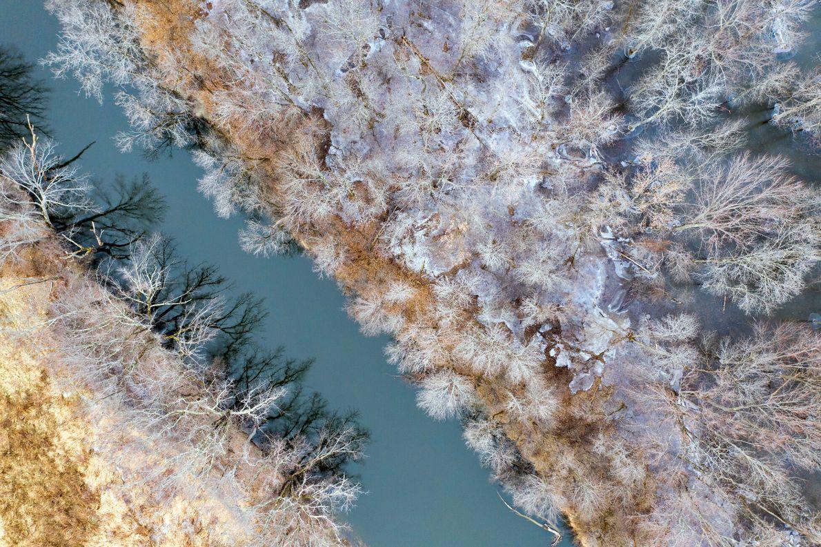 « La neige offre une palette de couleurs en constante évolution idéale pour prendre des photos depuis ...