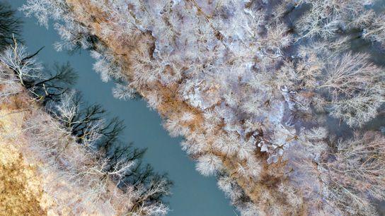 « La neige offre une palette de couleurs en constante évolution, idéale pour prendre des photos depuis ...