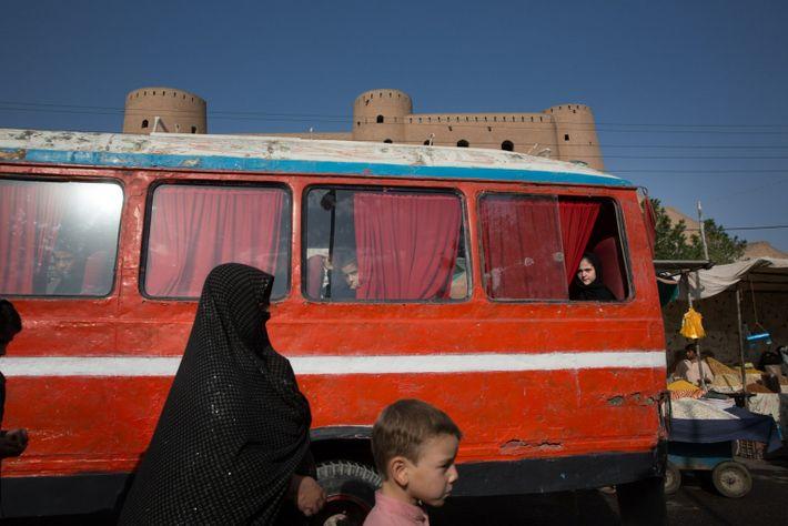 The Restored Citadel In Herat, Afghanistan
