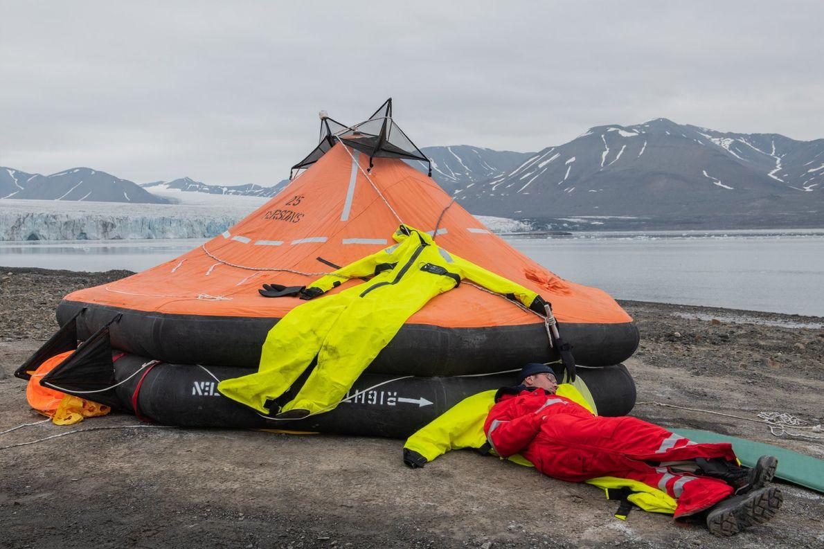 Thomas Wolf Wunderlich est l'un des capitaines du Polarstern, le brise-glace allemand qui accueillera la majeure ...