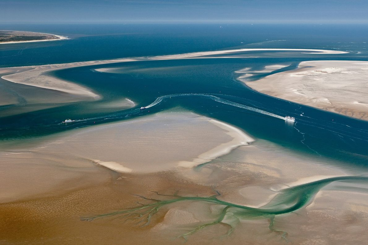 Îles de la mer des Wadden, Pays-Bas