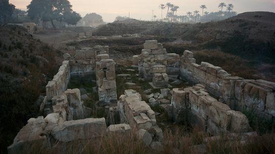 Ruins at Tanis, Egypt