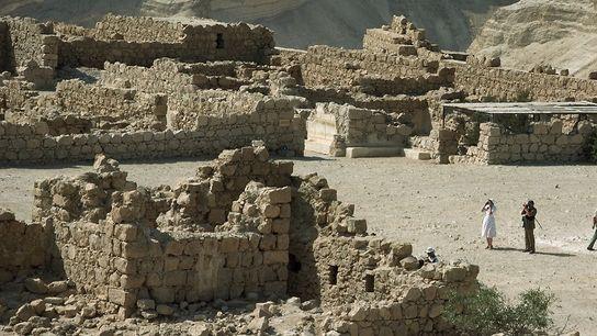 Ruines de Massada