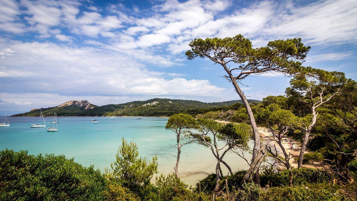 Les îles d'Hyères, France