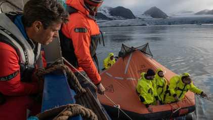 Voici à quoi ressemble un entraînement de survie aux conditions polaires
