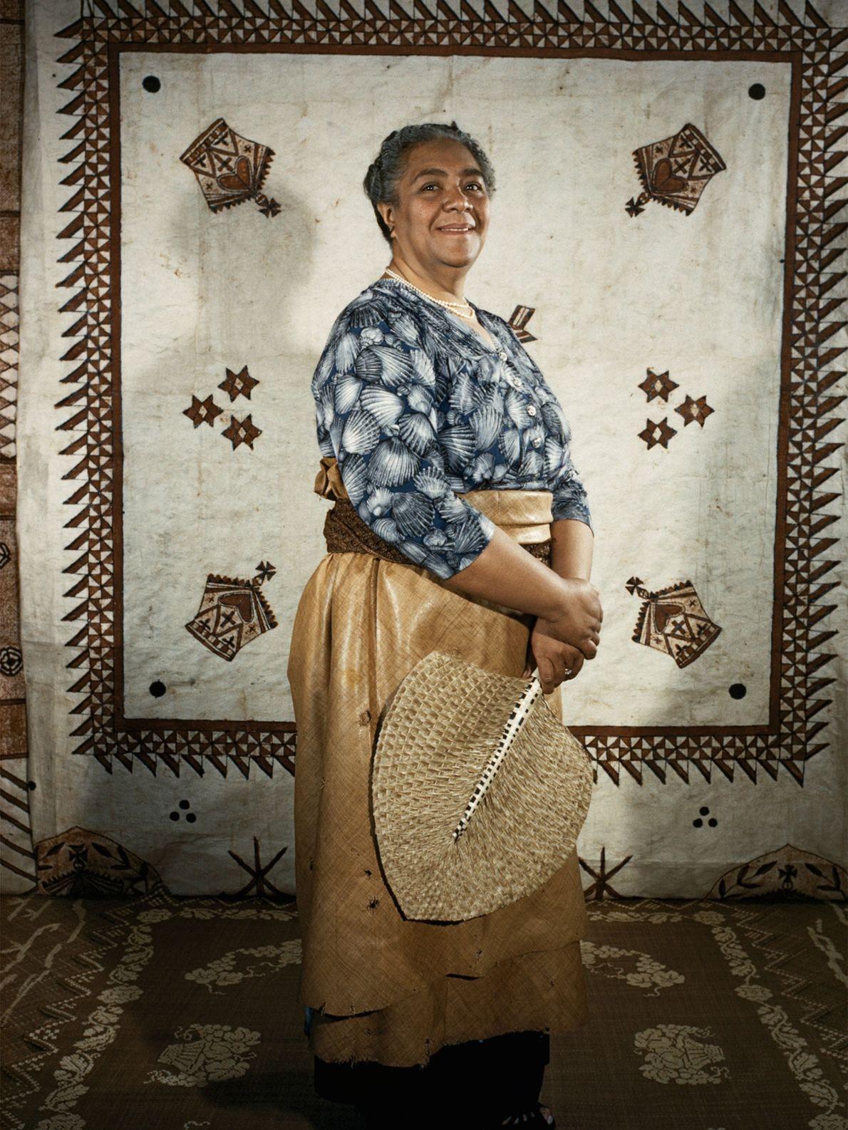 Première reine des Tonga, Salote Tupou III était la mère de Tāufaʻāhau Tupou IV. Elle est ...