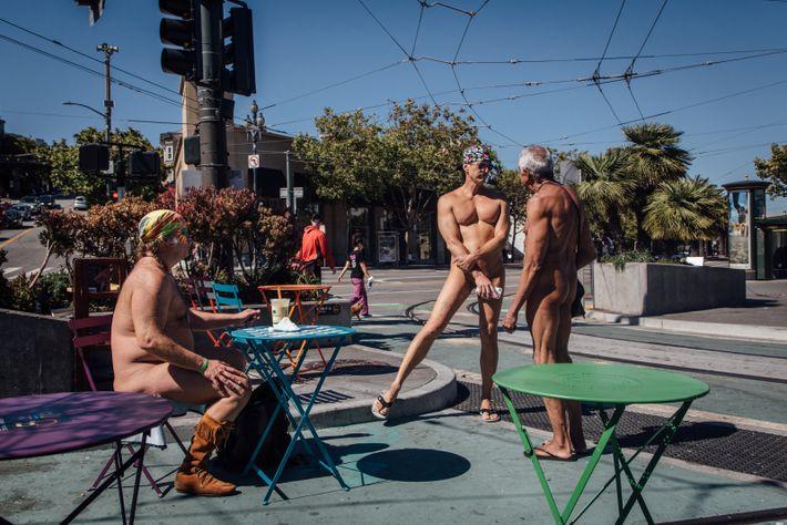 Dans Castro, le quartier LGBTQ de la ville, les originaux sont les bienvenus: il n'est pas ...