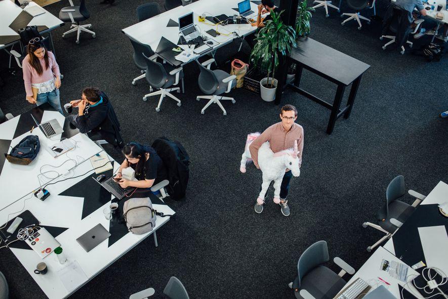 Pierre Letoublon, un Français expatrié en Californie depuis neuf ans, dirige Parisoma, incubateur de start-up et ...