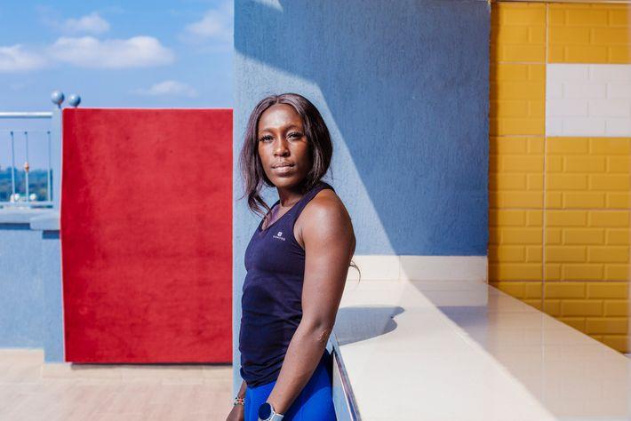 Michelle Sinaida joue pour les Kenya Lionesses, l'équipe nationale féminine de rugby. Lors de son premier match international ...