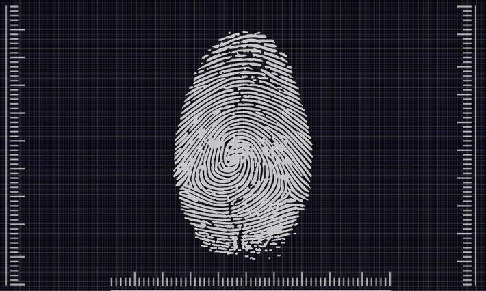 Identification biométrique.