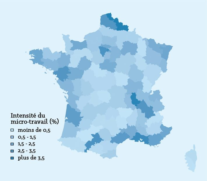 Répartition géographique des participants à l'enquête DiPLab (plateforme Foule Factory, 2018), sur le territoire de la ...