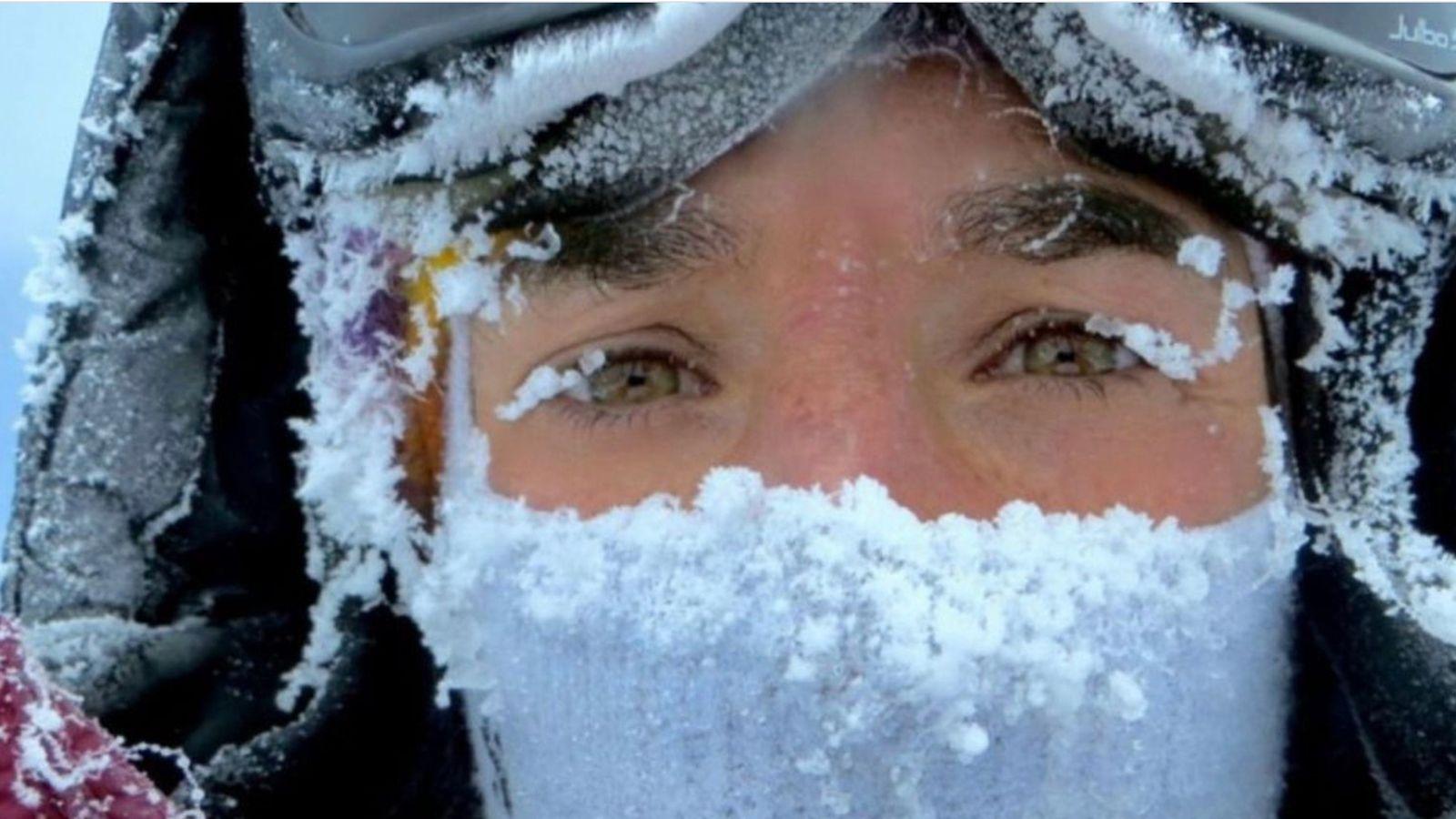 Portrait d'Elisabeth Revol. Première femme à réussir l'ascension hivernale du Nanga Parbat.