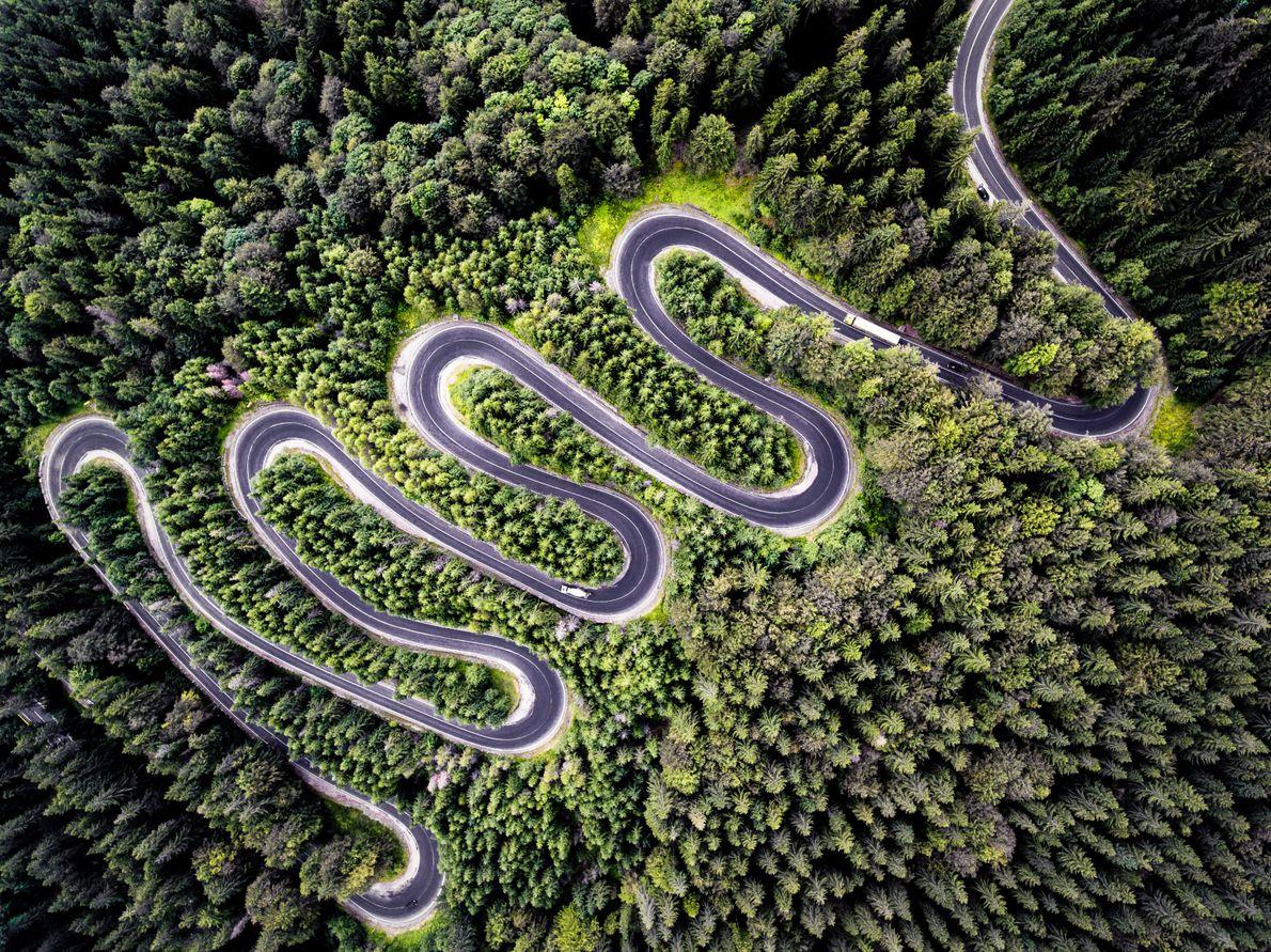 2 ème prix Nature : Route sans fin de Transylvanie, de Calin Stan.