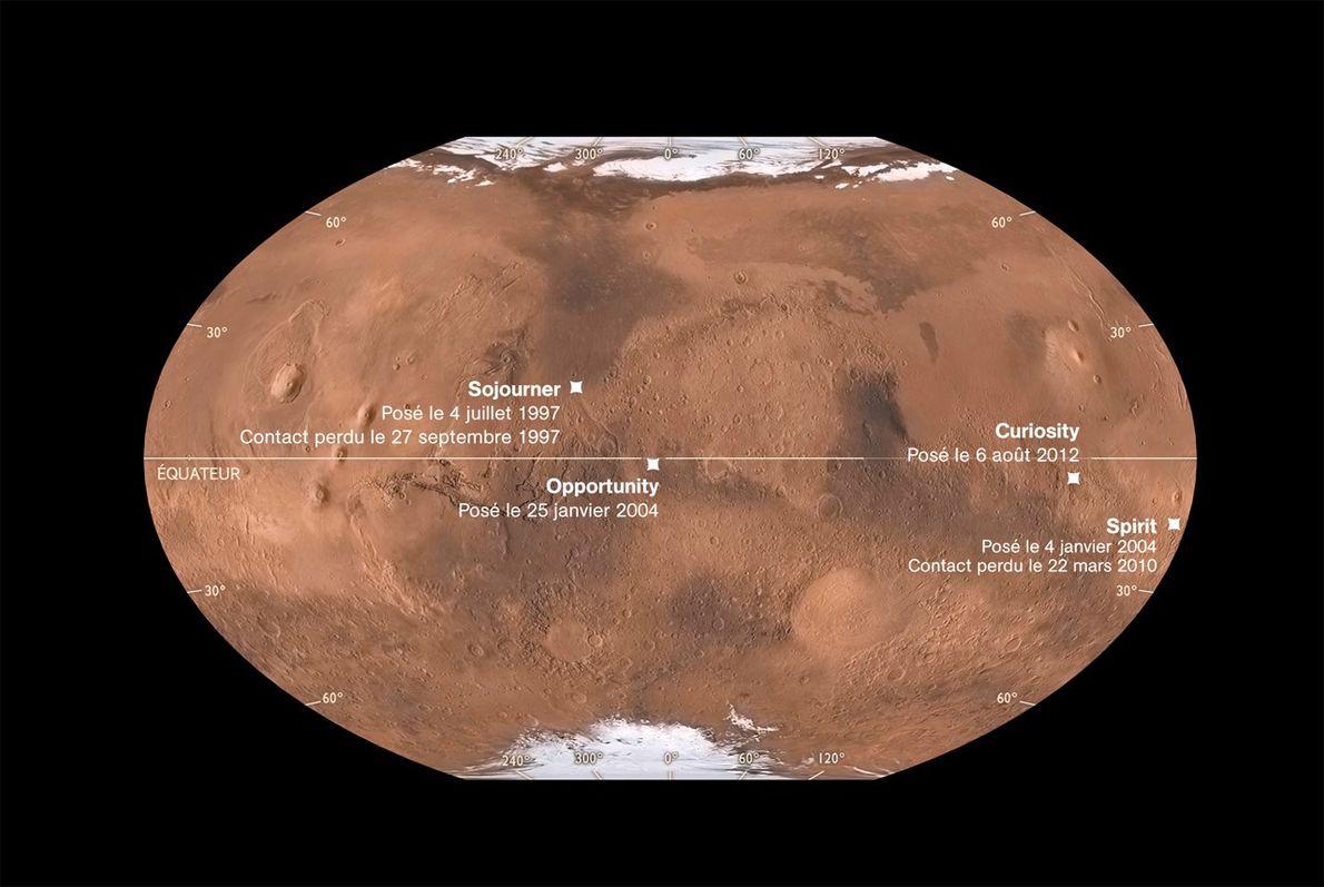 Histoire des rovers sur Mars
