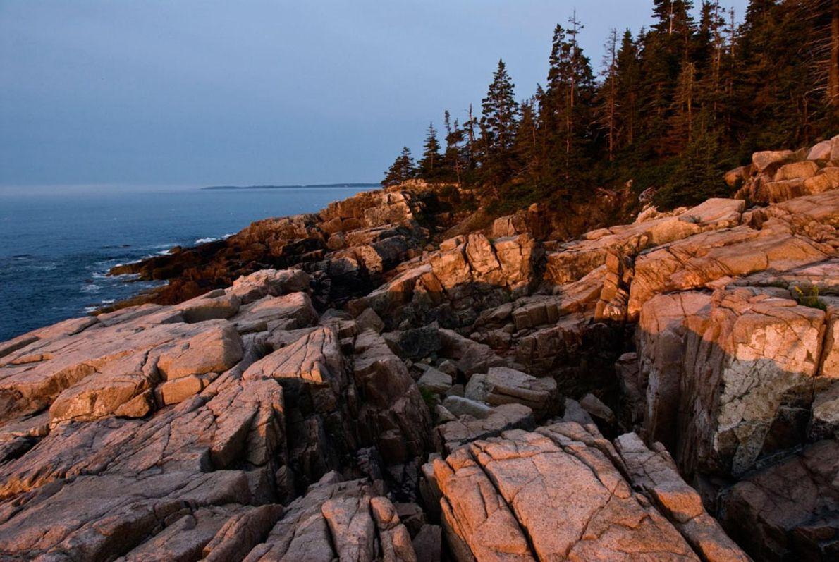 7. LE PARC NATIONAL D'ACADIA  Dans le Maine, la mer et la montagne ne font qu'un dans ...