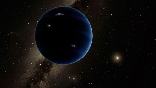 Selon certains astronomes, une planète inconnue, six fois plus lourde que la Terre, rôderait aux confins ...