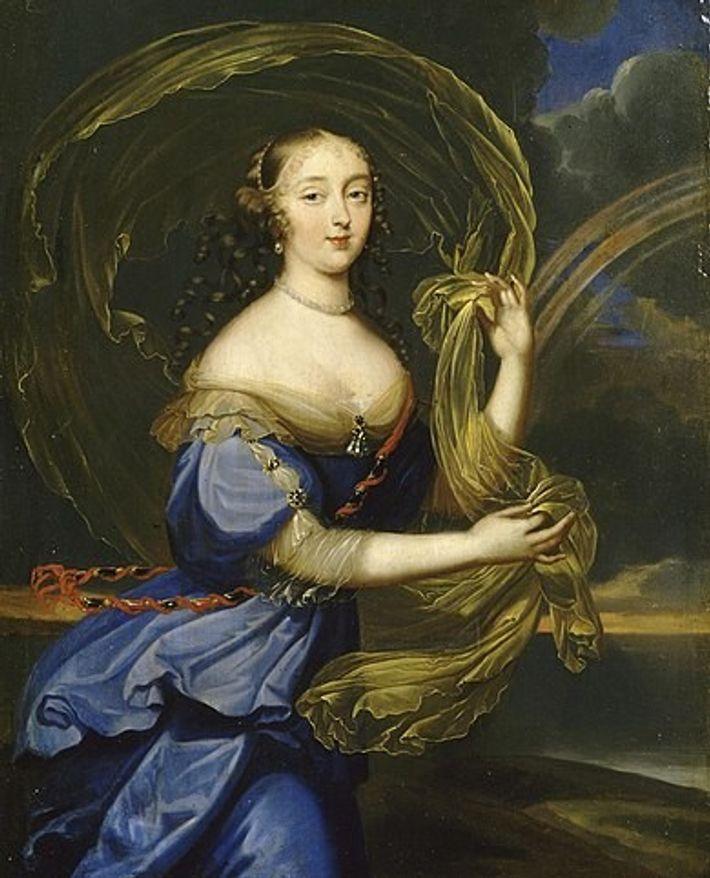 Portrait de Mme de Montespan conservé au château de Versailles (peinture de la seconde moitié du ...