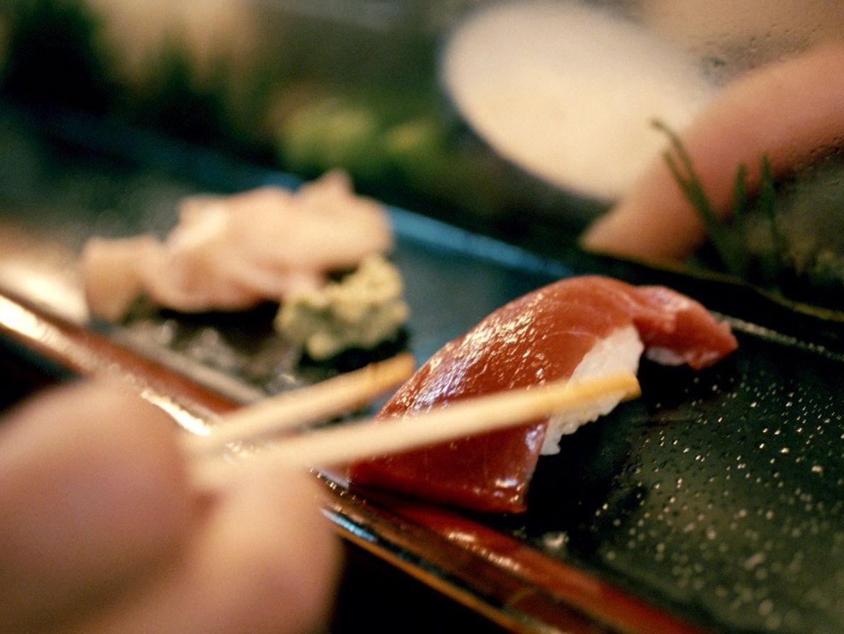 Sushi de thon