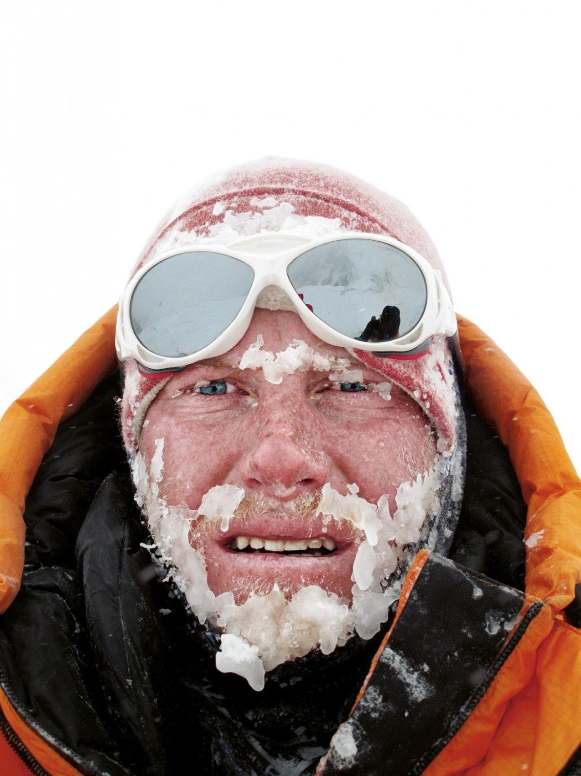 Autoportrait de Cory Richards, explorateur