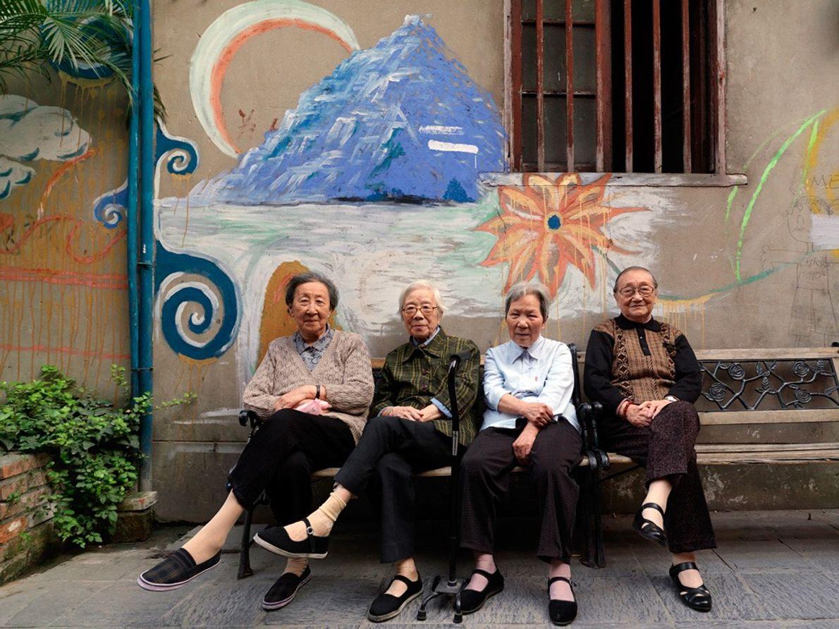 Des femmes à Shanghai