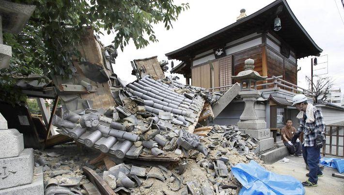 Les dégâts sont aussi très importants à Osaka.